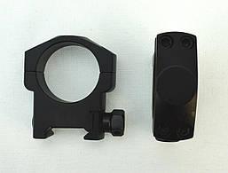 Крепление кольца Vector Optics Tactical 30 mm Weaver, средние (SCTM-22)