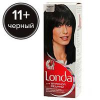 Londa Краска для волос для упрямой седины №11+ Черный (стойкая крем-краска)