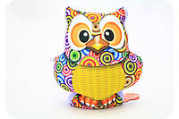 Подушка игрушка мягконабивная для ребенка «Сова», фото 1