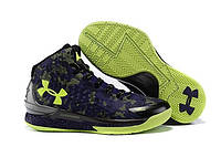 Кроссовки Under Armour Curry One High Purple Green