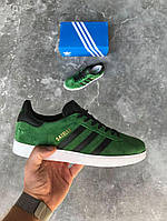 Кроссовки Adidas Gazelle 'Green Suede' (адидас газель)