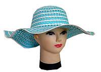 Женская  шляпа волна