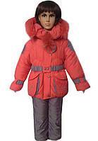 Зимний комбинезон для девочки недорого