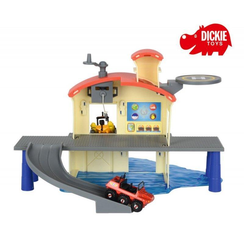 Пожарный Сэм, Морской гараж + лодка, 3099616
