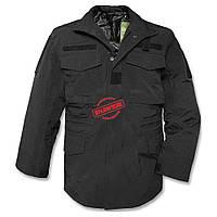 Куртка Mil-TEc м65 влагозащитная мембранная чёрная