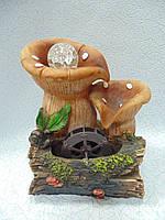 Фонтан настольный декоративный Грибы размер 25*18*16 см