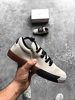 Кроссовки Adidas x Alexander Wang Skate Grey. Живое фото! Топ качество! (адидас александр вонг)
