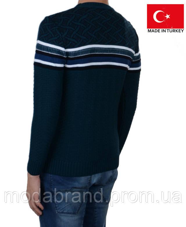 6e4ec2e150f Качественный мужской свитер прилегающего полуприлегающего силуэта  .Состав-50% шерсть