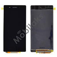 Дисплей Sony Xperia Z2 D6502, D6503 с тачскрином в сборе, цвет черный
