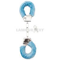 Сувенир SHT255BLU Furry Handcuffs - Blue