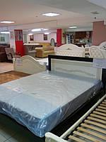 """Кровать двуспальная """"Бруно"""" из массива ольхи"""