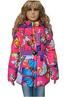 Яркие куртки детские для девочек весна-осень