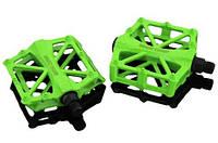Професійні педалі для велосипеда Basecamp BC671 надміцні зелені