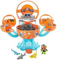 Игровой набор октонавты Октобаза Подводная станция Квайзи Fisher-Price Cocoanuts Octopod Shark Adventure