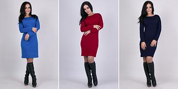 Вязаные платья для женщин