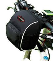 Сумка для велосипеда на руль Cycloving C358 нейлон чорна