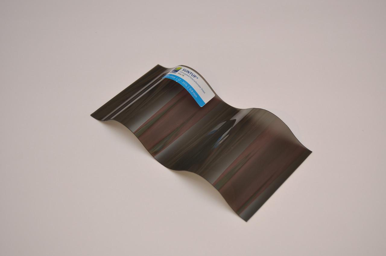 Поликарбонат Suntuf Iron 76 Solar Grey 1260x2000