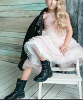 Сукня - Жакард зі шлейфом, фото 2