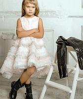 Сукня - Жакард зі шлейфом, фото 3
