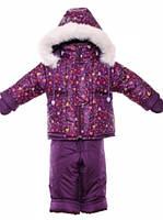 Детский зимний костюм на овчине-подстежке (от 6 до 18 месяцев) Бордовый Энгри Бердз