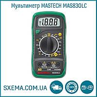 Мультиметр MASTECH  MAS830LC с подсветкой экрана, амперметр, вольтметр, прозвонка
