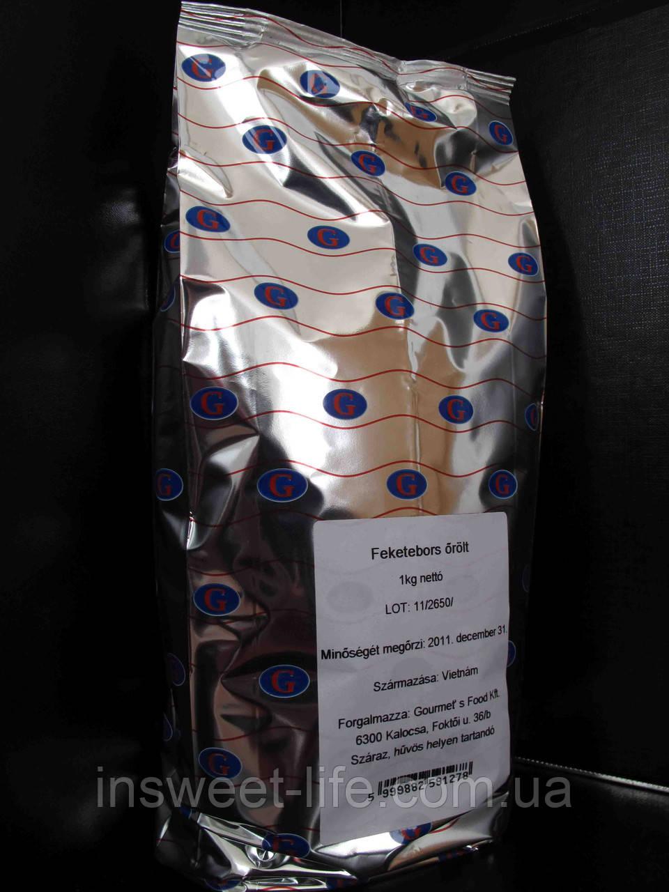 Перець чорний мелений 1 кг/ упаковка