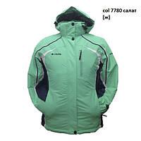 Женская Куртка Columbia 7780 салатовая