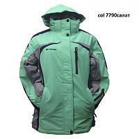 Женская Куртка Columbia 7781 салатовый