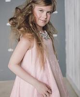 Платье - Жакард - пыльная роза, фото 4