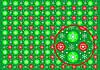 Карта для декупажа Шарики Зеленая, А4