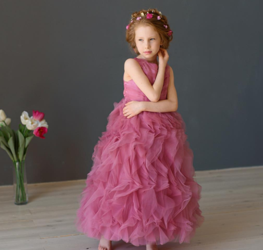 Платье -Лепестки