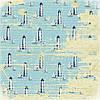 Бумага для скрапбукинга 30х30см Там, где море Назад к Морю
