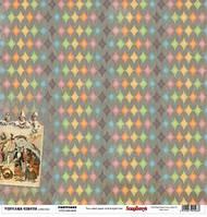 Бумага Старый цирк, Феерверк, фото 1