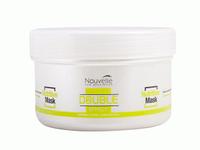 Nouvelle Double Effect Оживляющая маска для волос с кератином, Объем: 1000 мл