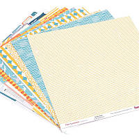 Набор бумаги Это Лето, 30х30 см, 9 листов