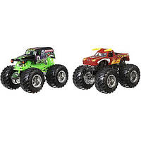 Hot Wheels® Monster Jam® Demolition Doubles® Grave Digger® vs El Toro Loco® Vehicles