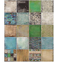 Набор бумаги Районы кварталы, 30х30, 10 листов, фото 1