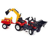 Детский трактор на педалях Falk 2051CN RANCH TRAC