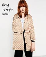 Стеганая куртка от Zara