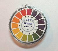 Лакмусовая бумага ( pH-тест ) 1-14рН в рулоне 5 м