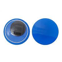 Глазки синие, круглые, 12.0 мм, 5 пар