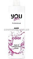 You look Professional Color Маска-бальзам для окрашенных и поврежденных волос, Объем: 1000 мл