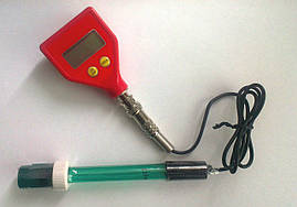 Портативный PH-метр PH-98105 ( KL-98105 ) со сменным электродом ( E-201 ), BNC