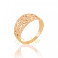 Золотое кольцо с фианитами. КП1690