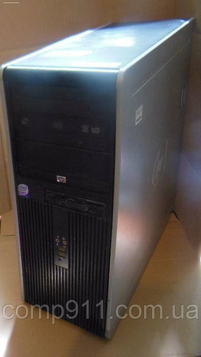 КомпьютерHPCompaq DC7800 Intel core2quadQ6600 2.4 ГГц /4056MB /750Gb