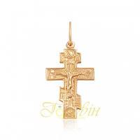 Золотой крестик. П327