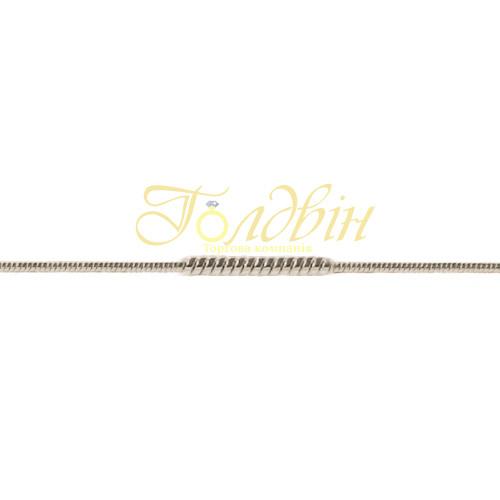 Золотая цепочка плетение Снейк П73110403