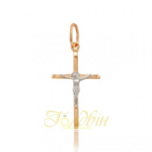 Золотой детский крестик. ПП416