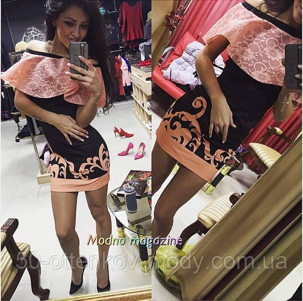 6431569dc31a Женское модное платье с воланом  продажа, цена в Одессе. от ...