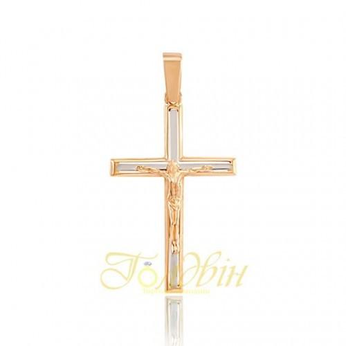 Золотой крестик. П03057